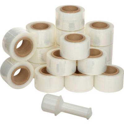 """Banding Stretch Wrap - 3"""" x 600' - 150 Gauge, Cast - Pkg Qty 18"""