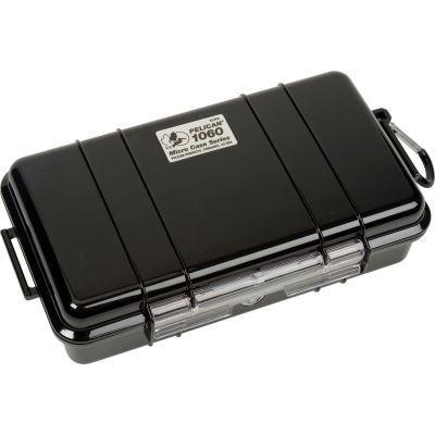 "Pelican 1060 Watertight Micro Case With Liner 9-3/8"" x 5-9/16"" x 2-5/8"", Black"