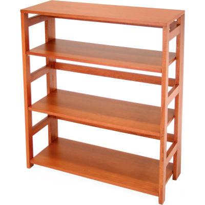 34x30 Flip Flop Bookcase - Cherry