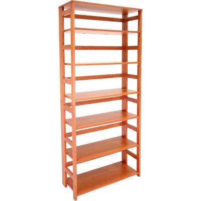 67x30 Flip Flop Bookcase - Cherry