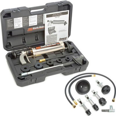 General Wire KR-D-WC Kinetic Water Ram Manual Drain Cleaner W/Case