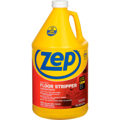 Zep® Heavy-Duty Floor Stripper Concentrate, Gallon Bottle, 4 Bottles - ZULFFS128