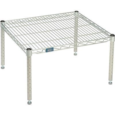 """Standard Wire Shelf Platform, Poly-Z-Brite, 21""""W x 24""""L x 14""""H"""