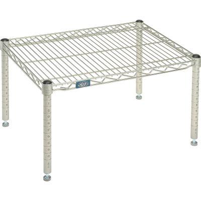 """Standard Wire Shelf Platform, Poly-Z-Brite, 30""""W x 18""""D x 14""""H"""