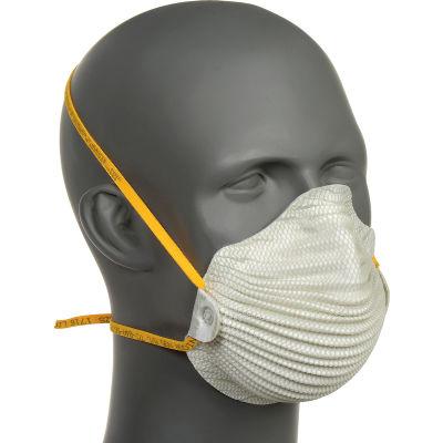 Moldex 4600 4600N95 Series AirWave® N95 Particulate Respirator, M/L, 10/Box