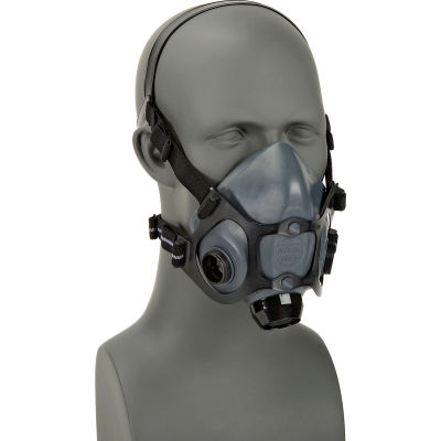 North® 5500 Series Low Maintenance Half Mask Respirator, Medium, 550030M