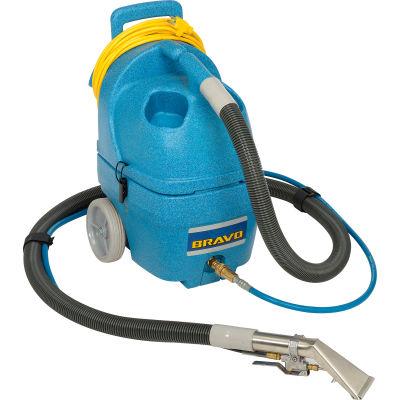 "EDIC Bravo 3 Gallon Carpet Spotter, 55 PSI Pump, 106"" Waterlift, W/ 1500W In-Tank Heater - 339MH-HT"