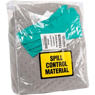 Global Industrial Universal 5 Gallon Truck Spill Kit-Zipper Bag