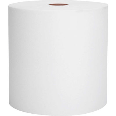 Scott® Nonperforated Paper Towel Rolls, 8 x 800', White, 12 Rolls/Case - KIM01040