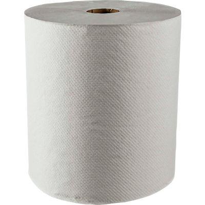 Scott® 100% Recycled Fiber Hard Roll Towels, White, 8 x 800', 12 Rolls/Case - KIM01052