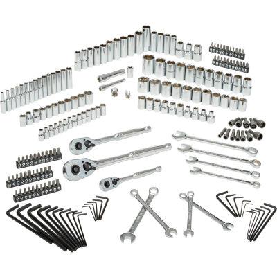 "Stanley STMT71654 201 Piece 1/4"", 3/8"", & 1/2"" Drive Mechanics Tool Set"