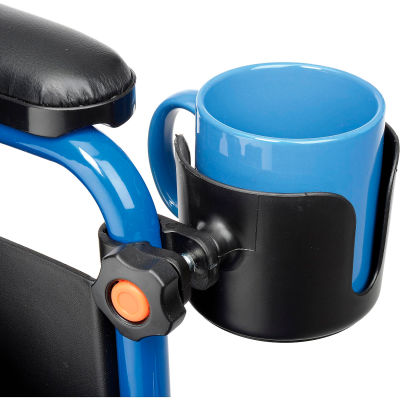 """Drive Medical Universal Cup Holder, 3"""" Wide, 1/PK"""