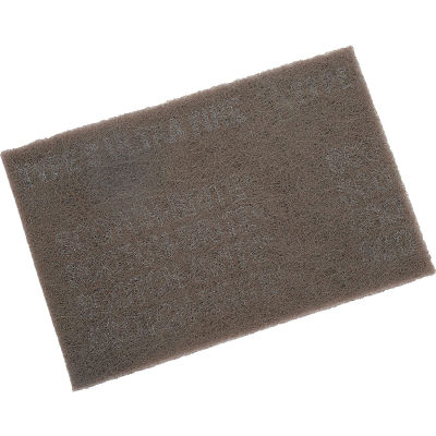 "3M™ Scotch-Brite™ Ultra Fine Hand Pad 7448 6"" x 9"" Silicon Carbide ULF Grit-60 Pads"
