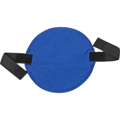 Ergodyne® Chill-Its® 6715 Evaporative Cooling Hard Hat Pad, Solid Blue, One Size