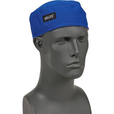 Ergodyne® Chill-Its® 6630 High-Performance Cap, Blue, One Size
