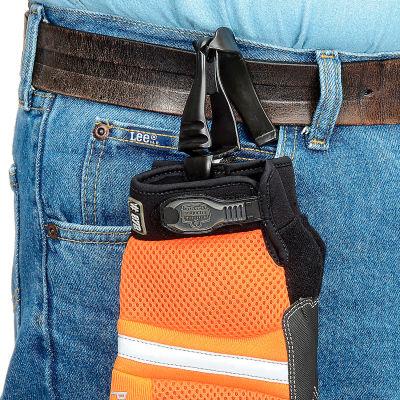 Ergodyne® Squids® 3405 Grabber With Belt Clip, Black