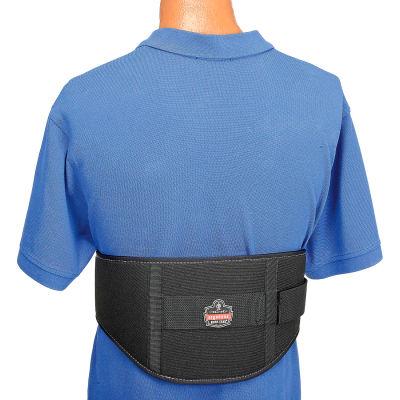 Ergodyne® ProFlex® 1500 Weight Lifters Style Back Support, Black, XL