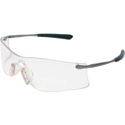MCR Safety T4110AF Rubicon® Protective Safety Glasses, Clear Anti-Fog Lens