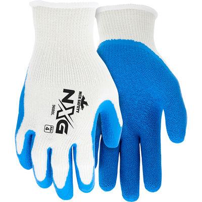 Premium Latex Coated String Gloves, Memphis Glove 9680s, 1-Pair - Pkg Qty 12