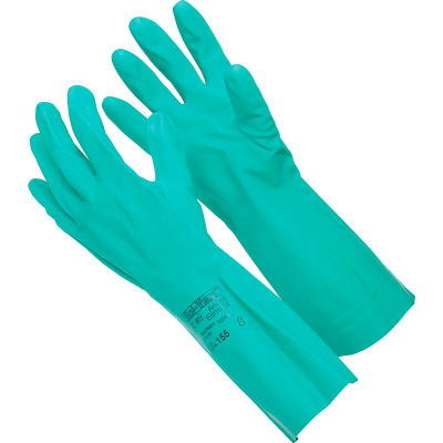 Sol-Vex®  Unsupported Nitrile Gloves, Ansell 37-155-8, 1-Pair - Pkg Qty 12