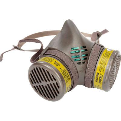 Moldex 8603 8000 Series Multi-Gas/Vapor Smart® Cartridge Assembled Respirator, Large, 1/Pack