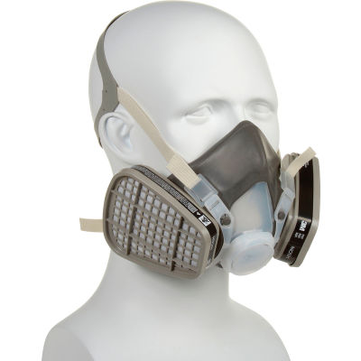 3M™ 5000 Series Half Facepiece Disposable Respirators, OV, Large, 5301