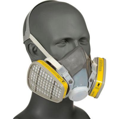 3M™ 5000 Series Half Facepiece Disposable Respirators, OV/AC, Large, 5303