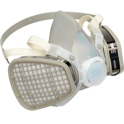 3M™ 52P71 Half Facepiece Disposable Respirator Assembly, OV/P95, Medium, 1 Each