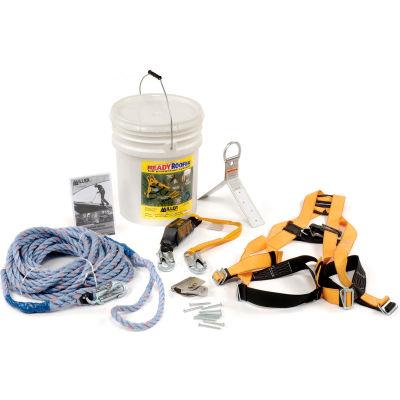 Miller Titan ReadyRoofer® Fall Protection System, BRFK50-Z7/50FT