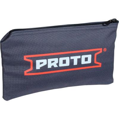 """Proto J95305 7"""" x 12"""" Heavy Duty All-Purpose Canvas Zipper Bag"""