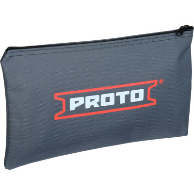 "Proto J95306 All-Purpose Canvas Zipper Bag - 9"" x 15"""
