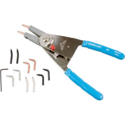 """Channellock® 929 10"""" Convertible Internal/External Snap Ring Plier"""