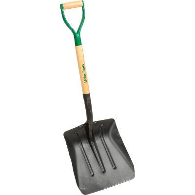 Razor-Back® 54109 #2 Street Coal/Street Shovel W/ Wood & Steel D-Grip Handle
