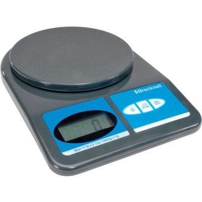 Brecknell 311 Office Digital Scale 11lb x 0.1 oz, 5-7/8 Diameter Platform