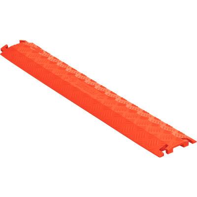 "Fastlane® Drop Over Cable Protector 1 CH 5.25""W - Orange"