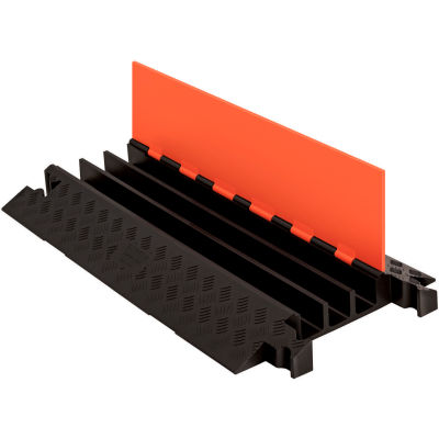 Guard Dog® 3 CH Cable Protector - Orange Lid/Black Base