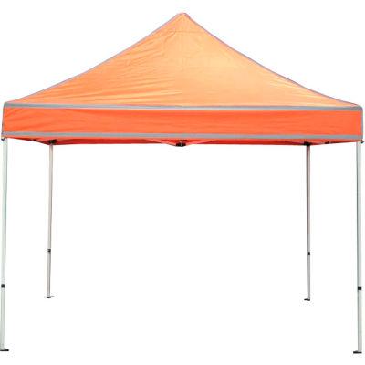 Festival™ Emergency Response Instant Canopy 10'L x 10'W - Bright Orange