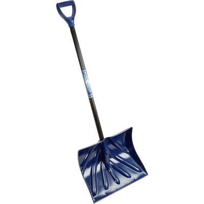 "TrueTemper® 1627200 18"" Mountain Mover Poly Blade Combo Snow Shovel W/ Steel D-Grip Handle"