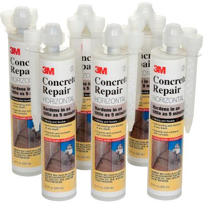 3M™ Self-Leveling Concrete Repair 600 Cartridge, 62264912338 - Pkg Qty 6