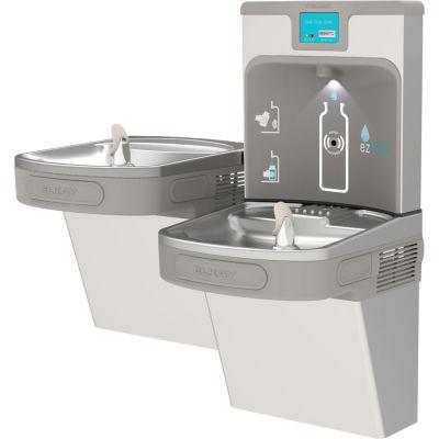 Elkay EZH2O Enhanced Water Bottle Refilling Station, Bi-Level, Filtered, Stainless