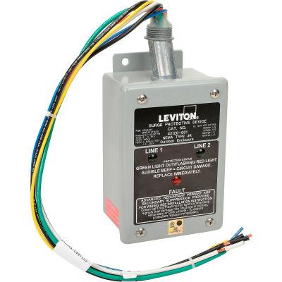 Leviton 42120-1 Single Phase, Branch Panel Mount Surge Protection Device
