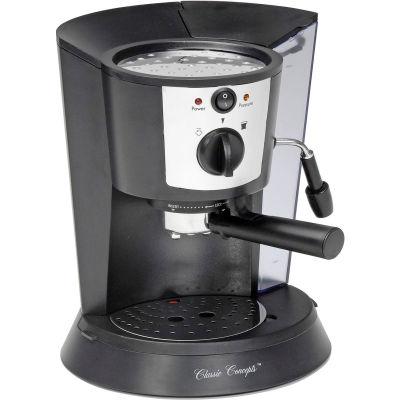 Classic Coffee Concepts CC1812 - Espresso Machine, 1 or 2 Cup, Black, Pour-Over