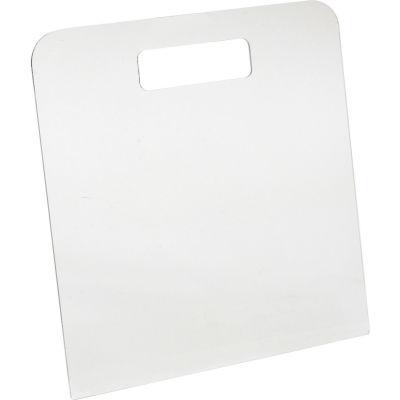 """Large Acrylic Folding Board 11"""" X 12"""" Clear - Pkg Qty 6"""