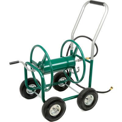 High-capacity Garden Hose Wagon (Garden Hose Not Included)