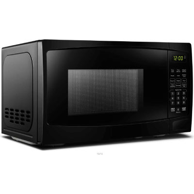 Danby® DBMW0720BBB, Microwave Oven,  0.7 Cu. Ft., Black, 700 Watts, Touchpad, LED Clock / Timer