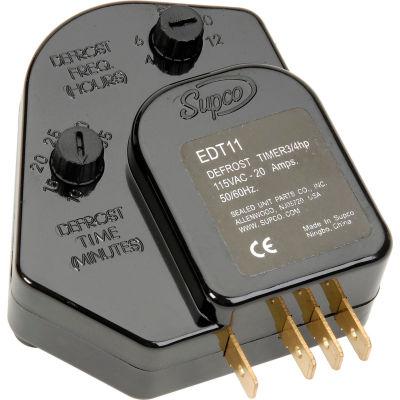 Supco EDT11 Adjustable Defrost Control 115 V, 3/4 hp, 20 Amp