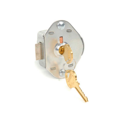 Master Lock® No.1714MK Built-In Key Operated Lock - Auto Springbolt Locking w/Master Key Access