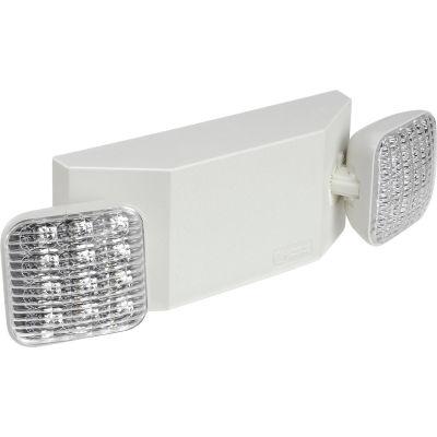 Lithonia EU2C M6 2 Head LED Emergency Unit W/ Adjustable Optics