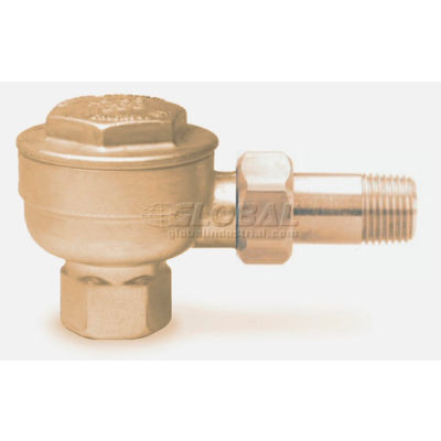 Thermostatic Angle Trap 17C .5 In.