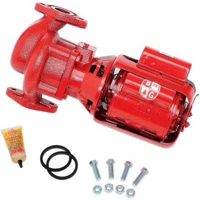 Three-Piece Cast Iron HV Series 100 NFI Circulator Pump 102210 - 1/6 HP